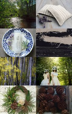 Woodland Tale by Jooni Jewelry on Etsy--Pinned with TreasuryPin.com