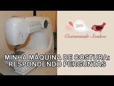 Minha Máquina de Costura (Elgin Genius JX4000): Respondendo Perguntas - YouTube