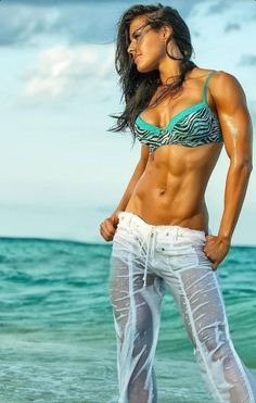 Sexy and Stunning Abs  #fitness #women #sexy #hardbodies