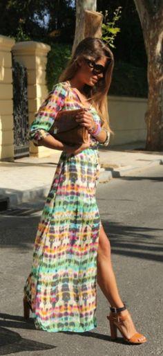 BOHO Tie-Dye Dress. You won't believe the price!