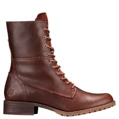 Shop Timberland for Banfield women's leather boots: A combo of edgy and dressy.