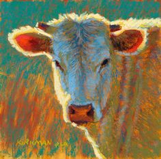 """""""Diamond""""  (pastel, 6x6 inches)   Available this weekend March 22-24, 2013 at the Bayou City Art Fest Memorial Park in Houston, TX."""
