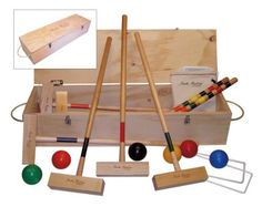 Hilton Head Croquet Set By North Meadow, 2015 Amazon Top Rated Croquet #Sports