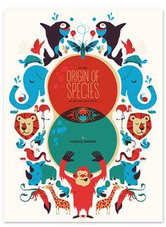 Origin of the Species by Delicious Design League