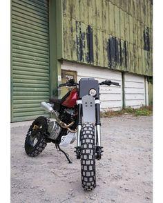 Honda 650 Scrambler by Kevils Moto #motorcycles #scrambler #motos | caferacerpasion.com