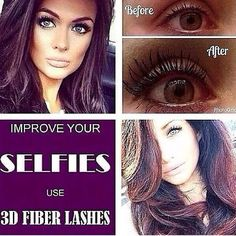 3D Fiber Lashes by Younique Visit www.lusciousluxurylashes.com to purchase yours today xx #lashes #fiberlashes #younique #lusciousluxurylashes #beauty #makeup