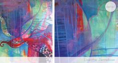 intuitive painting proces colors