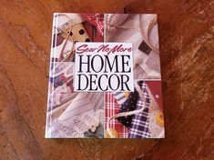 Sew No More Home Decor by Leisurre Arts Memories in the Making series