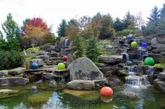 Chihuly's glass art at Frederick Meijer Gardens, MI