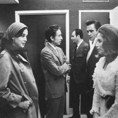Sara & Bob Dylan with Johnny & June Carter Cash