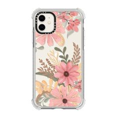 Check out this design on Casetify! Girly Phone Cases, Art Phone Cases, Pretty Iphone Cases, Diy Phone Case, Iphone Case Covers, Phone Cover, Watercolor Flower, Green Watercolor, Iphone 8 Plus