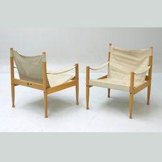 // eilersen canvas safari chairs.
