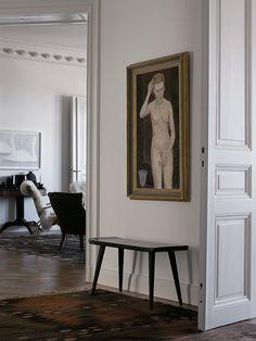 Mats Gustafson 's Apartment in Stockholm - Neu Deko Mats Gustafson, Interior Exterior, Interior Architecture, Stockholm Apartment, York Apartment, Townhouse Designs, Interior Design Inspiration, Daily Inspiration, White Walls