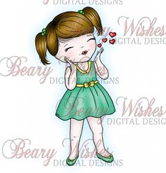 Blowing-Kisses-WM-Green - lots of cute digis on this site - many free and many to purchase