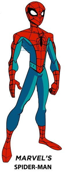 Marvel's Spider-Man (formally Dynamic) by stick-man-@deviantART