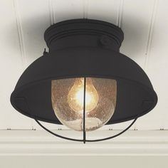 Shop outdoor ceiling lights at Shades of Light. Our selection of exterior ceiling lights includes outdoor flush mount lights, porch ceiling lights & outdoor ceiling lamps. Outdoor Ceiling Lights, Kitchen Ceiling Lights, Kitchen Lighting Fixtures, Porch Lighting, Home Lighting, Modern Lighting, Outdoor Lighting, Lighting Design, Nautical Lighting