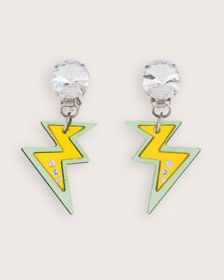 Visit the Miu Miu official Store, find out the new Miu Miu Jewels collection for Accessories and buy directly online. Jewelry Ideas, Jewelry Box, Jewelery, Jewelry Accessories, Egg Yolks, Just Girl Things, Lightning Bolt, Little My, Chemist
