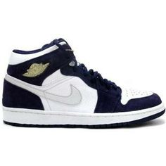 wholesale dealer f2b44 d49a6 Buy Air Jordan Retro 1 White Metallic Silver Midnight Navy from Reliable  Air Jordan Retro 1 White Metallic Silver Midnight Navy suppliers.