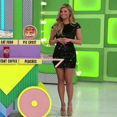 Amber Lancaster - The Price Is Right (3/4/2016) ♥