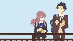 Ishida Shouya / Nishimiya Shouko (Koe no Katachi) by Sephiroth508.deviantart.com on @DeviantArt