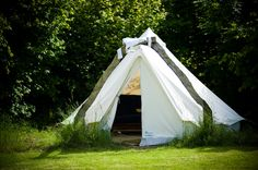 Glamping the bell tent, Coppice Woodland Bell Tent Glamping, Canopy And Stars, Gypsy Caravan, Outdoor Gear, Britain, Woodland, Gate, England, Camping