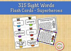 Sight Word Flash Cards, Dolch Sight Words, Flashcards Printables, Sight Words Flashcards, Elementary Sight Words Sight Word Bingo, Sight Word Flashcards, Dolch Sight Words, Sight Word Activities, Counting Activities, Learning To Write, Writing Practice, Learning Resources, Teacher Resources