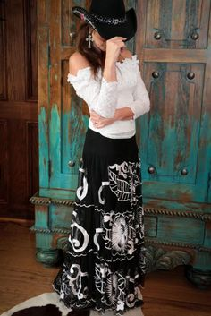 Vintage Collection Skirt and Marrika Nakk Top from Cowgirl Kim