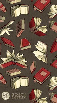 #books #iphone #wallpaper