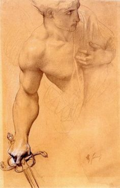 """iotaorionis: """" wasbella102: Angel, Study for the Lost Paradise: Alexandre Cabanel French Academic Painter """""""