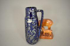 Vintage Vase / Scheurich / Modell 275 20 / Metallic | West Germany | WGP | 60er von ShabbRockRepublic auf Etsy