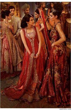 Nilofer Shahid Bridal - gorgeous Pakistani fashion !
