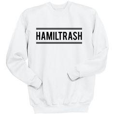 Hamiltrash Sweatshirt Hamilton Shirt Aaron Burr Lafayette Sweatshirt... ($25) ❤ liked on Polyvore featuring tops, hoodies, sweatshirts, hamilton, black, women's clothing, faded shirt, vinyl shirt, long tops and crew neck sweatshirts