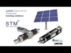 Advanced Solar Tracking Motion Solutions by Dunkermotor (a brand of AMETEK Precision Motion Control). www.dunkermotor.com