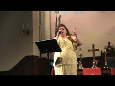 Gloria Price Singing: Even In The Valley