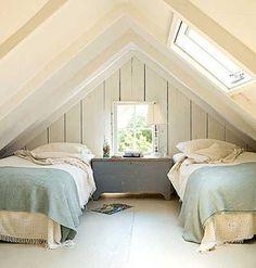 attic bedroom @Alice Cartee Starmer