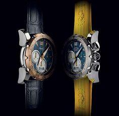 A Parmigiani Fleurier tornou-se a parceira oficial da equipe da Confederação Brasileira de Futebol (CBF) em 2011. Entre os diversos relógios que já lançou em homenagem ao Brasil está Pershing Chronograph 005 CBF, com uma caixa de titânio de 45 mm de diâmetro. O modelo vem com duas opções de pulseira: azul em couro de crocodilo, da marca Hermès, ou de borracha amarela com o logotipo da CBF em relevo.