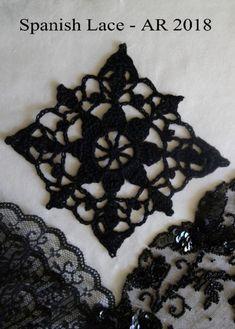 Spanish Lace Crochet Square | Crochet Thread