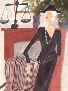 October 2014 Horoscope - Emirates Woman. Illustration by Kirsten Sims