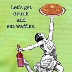 wine and waffles