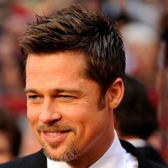 Boys haircut  Brad Pitt