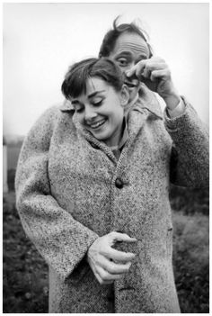 Audrey Hepburn and Mel Ferrer not far from Paris, 1956. Photo: Michael Ochs.