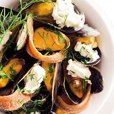 Recept - Zweedse mosselen - Allerhande Clams Seafood, Seafood Pasta, Mussel Recipes, Kids Meals, Easy Meals, Mussels, Crowd, Foodies, Keto