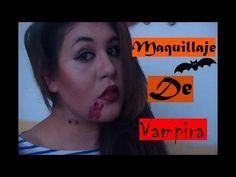 MAQUILLAJE DE VAMPIRA- PARA HALLOWEEN