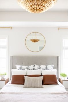 Master bedroom goals: http://www.stylemepretty.com/living/2017/05/01/tour-an-artists-bright-and-happy-home/ Photography: Catherine Truman - https://www.catherinetrumanphoto.com/