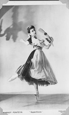 Margot Fonteyn in the main productions at Sadler's Wells in the late 30s and early 40s.