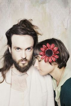 "Alex Ebert & Jade Castrinos - ""Edward Sharpe & the Magnetic Zeros"" and several others in the band. Music Love, My Music, Music Books, Alex Ebert, Edward Sharpe, Twin Flame Love, Twin Flames, Indie Music, Folk Music"