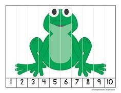 Preposition Activities, Frog Activities, Kindergarten Math Activities, Preschool Curriculum, Preschool Themes, Preschool Printables, Toddler Activities, Preschool Activities, Homeschool