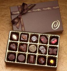 The Dark Chocolate Collection - [US_CHOCO_29]    Price:  US$50.00    The perfect gift of rich Dark Chocolate features a variety of nuts, caramels, nougats and ganaches all wrapped in our unique dark-roast chocolate blend. Selections include Almond Nougat, Key West Lime Pie, Angel's Food, Blue Ribbon Cherry Pie, Tart Lemon Marengo, Coconut Cream Pie, Mint Chip, Tahitian Vanilla Caramel and Chocolate Dipped Strawberry.Product Details:Number of Pieces - 15.