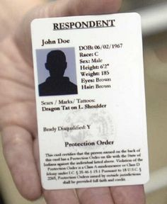 The Hope Card program helps police quickly identify and act against those violating a protective order. The card alleviates the need for a person under a protective order to carry multiple copies of court papers.