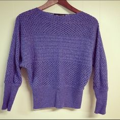 Beautiful lilac colored sweater Beautiful lilac colored sweater size xs, great condition Sweaters